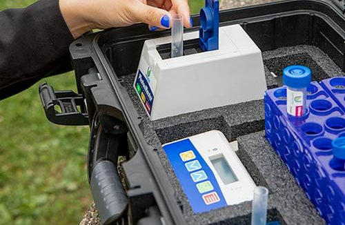 LuminUltra in-field microbial testing