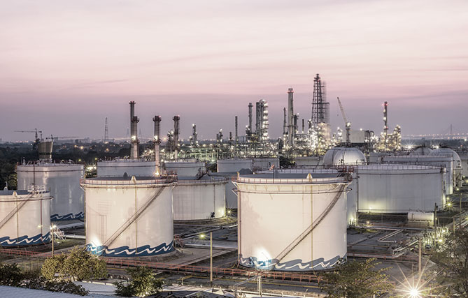 Oil and gas storage systems