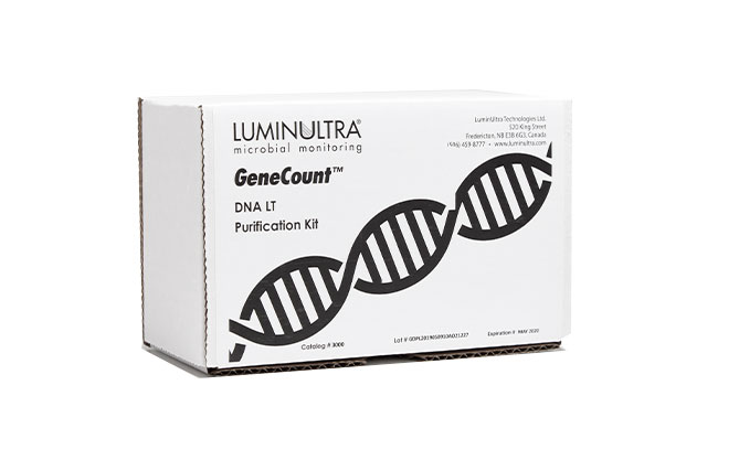LuminUltra GeneCount® mail-in sample preservation kit