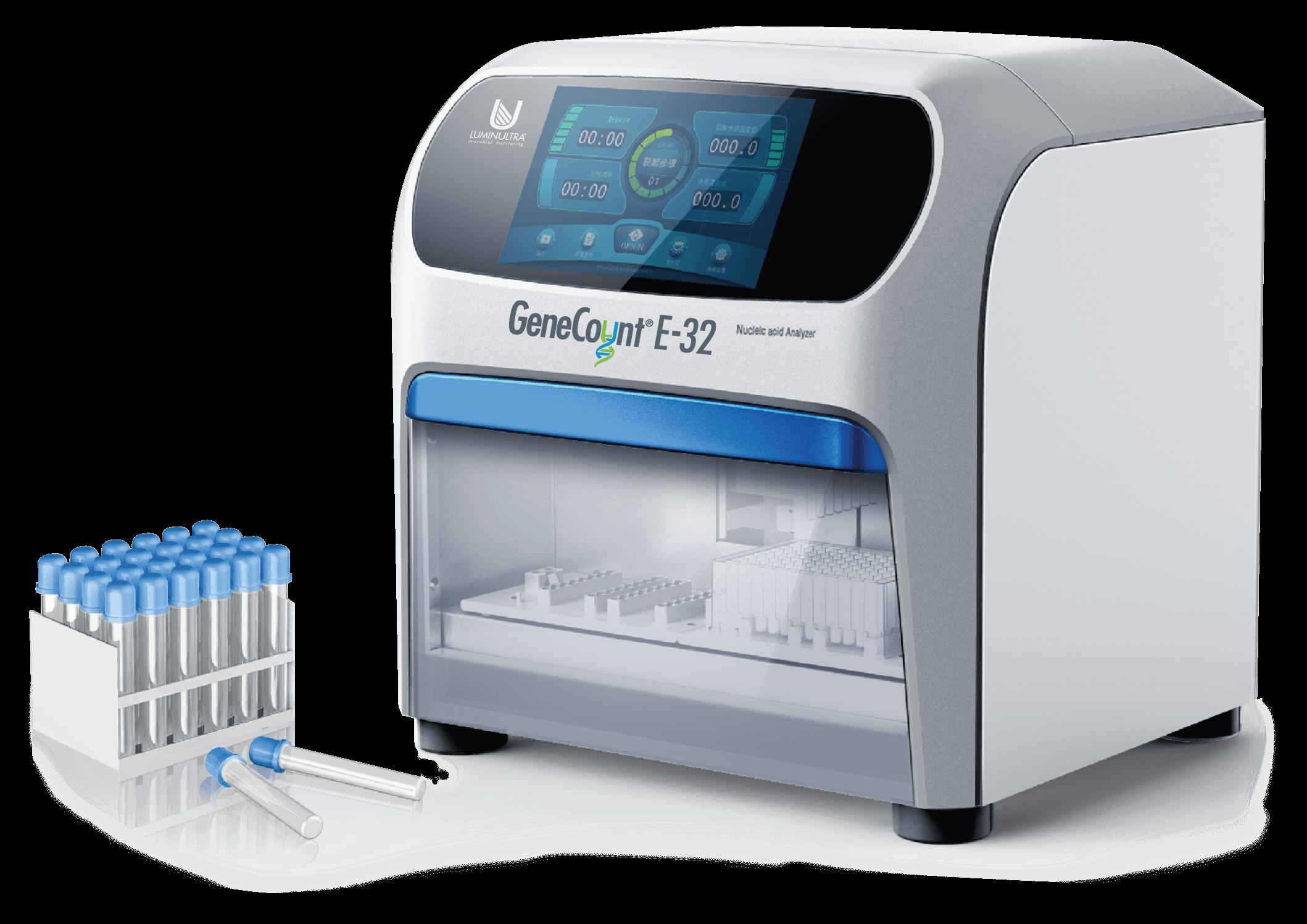 LuminUltra GeneCount® E-32 device