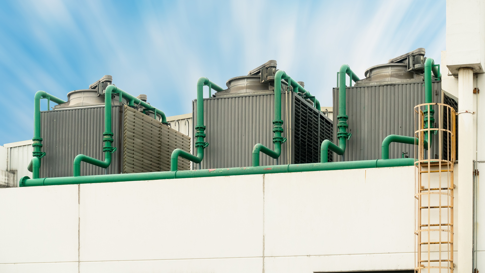 rooftop cooling tower
