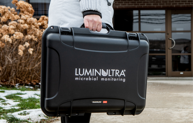 LuminUltra microbial monitoring technology