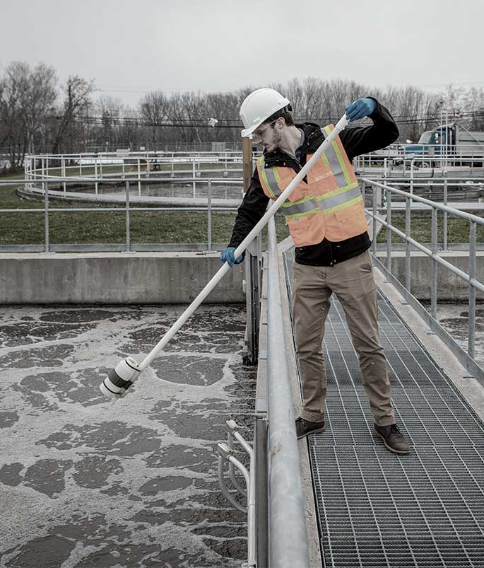 in-field wastewater testing